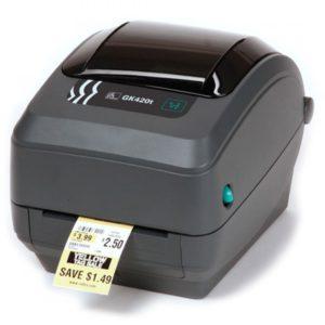 Принтер етикеток Zebra GK420t www.ribbon.org.ua